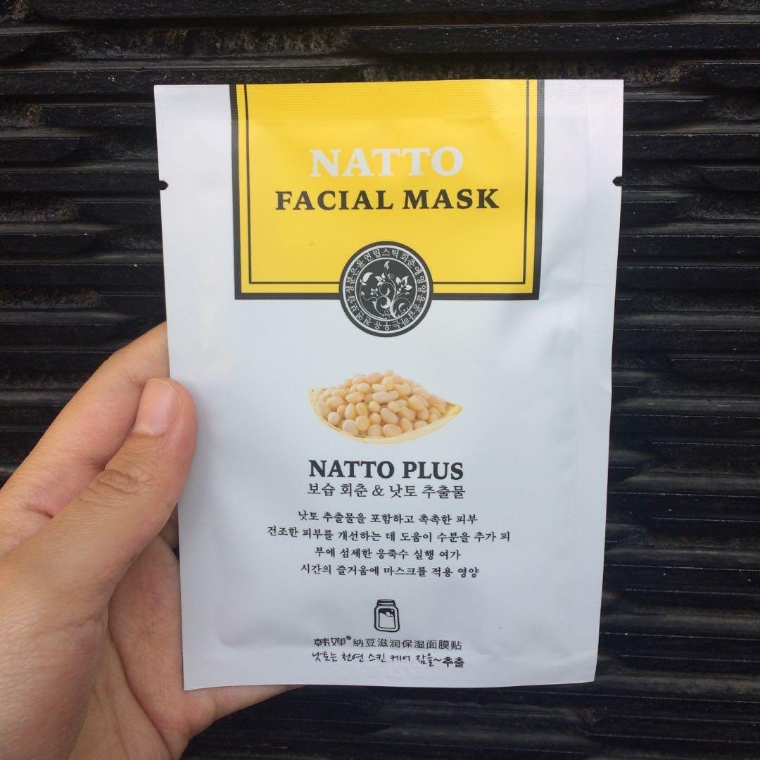 Natto Facial Mask