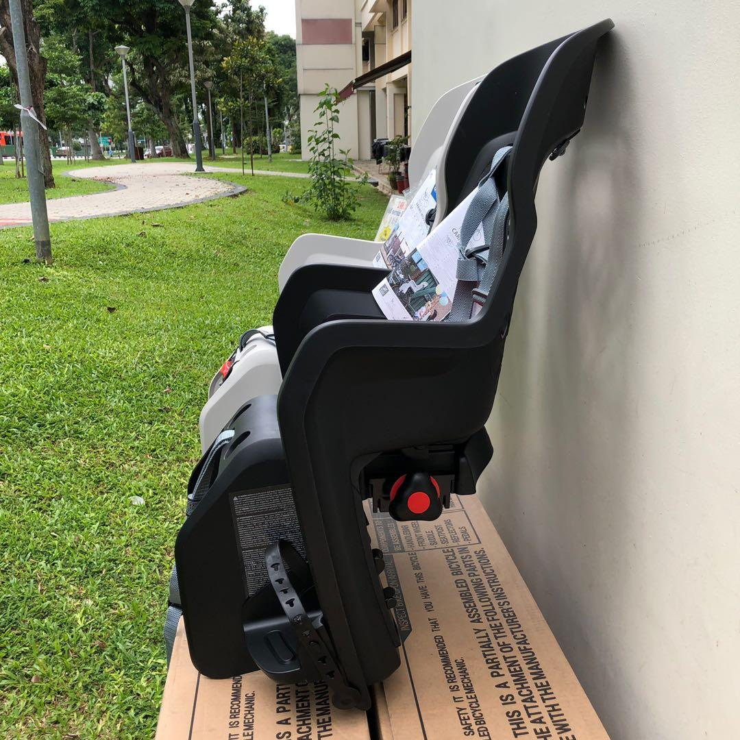 New: Polisport JOY CFS rear rack mount baby seat for bicycles