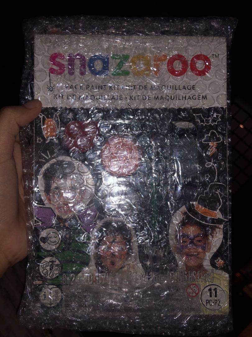 NEW!! SNAZAROO FACE PAINT halloween edition