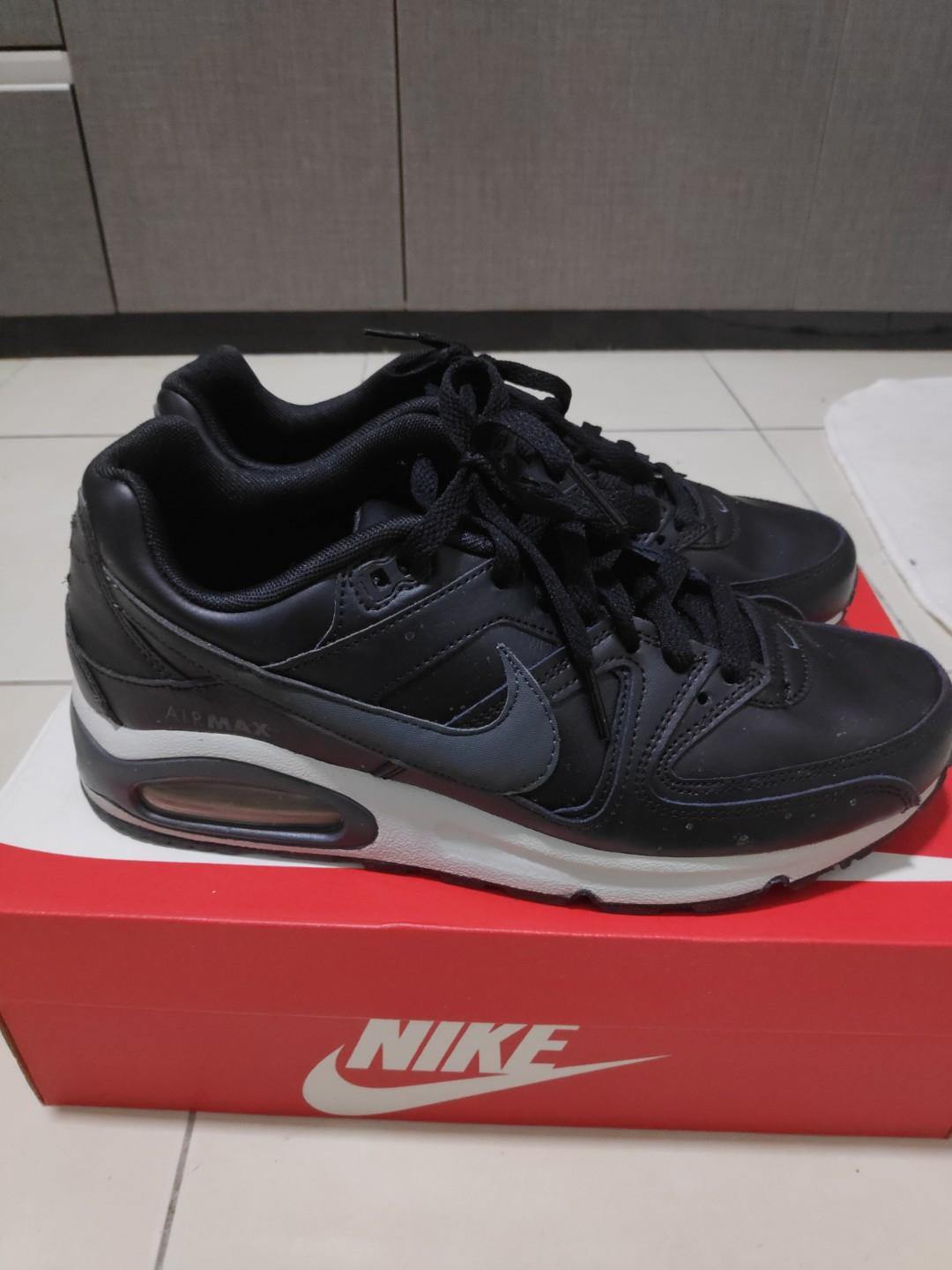 Desfavorable Donación Artista  Nike Air Max Command Leather (Black)., Men's Fashion, Footwear, Sneakers on  Carousell