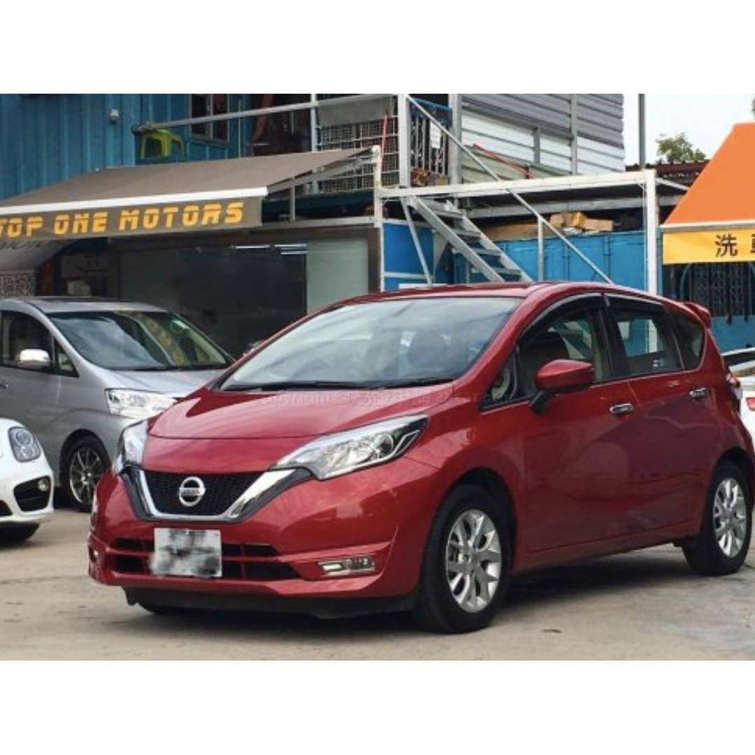 NISSAN NOTE DIGS GREEN 2017