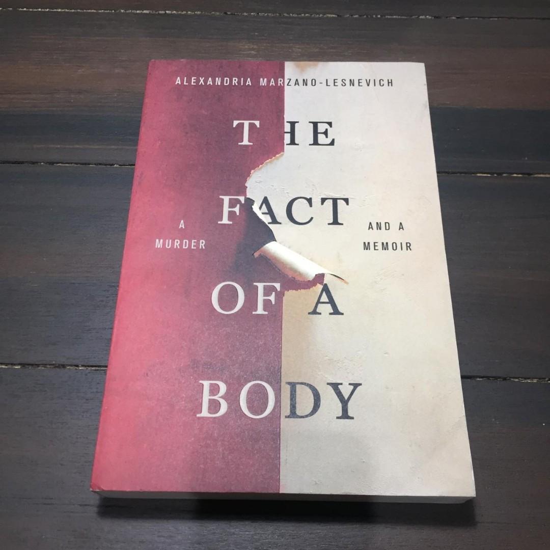 Novel Impor Murah - The Fact of A Body