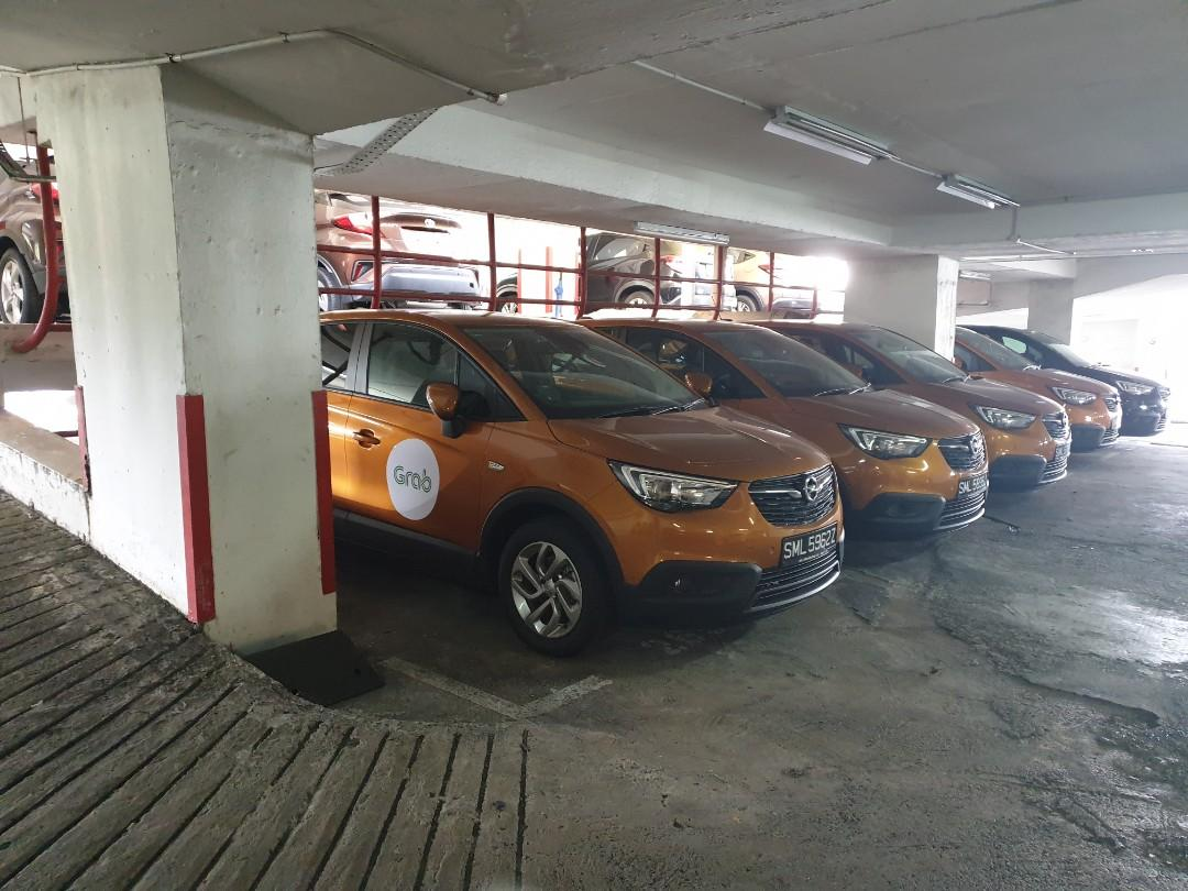 OPEL Crossland X for grab drivers