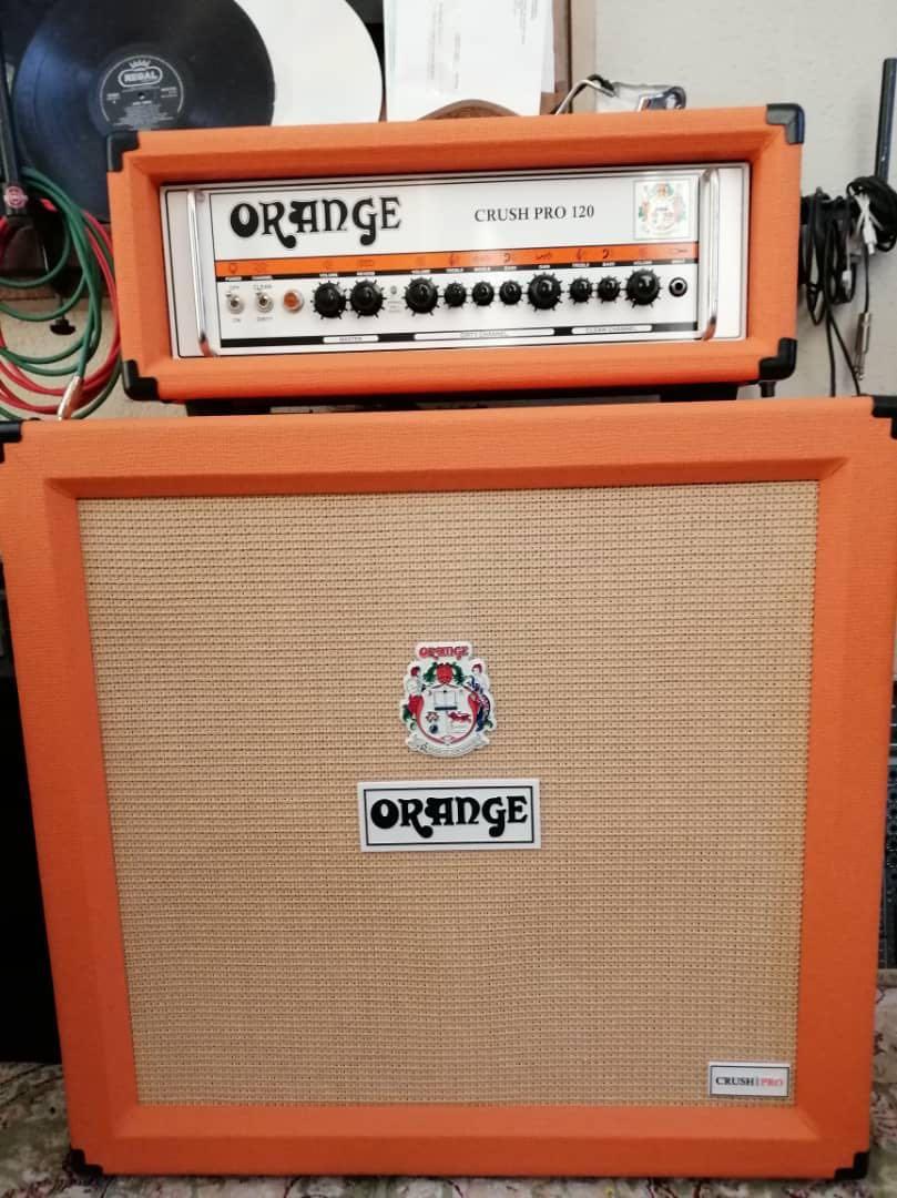 Orange Crush Pro 120 amplifier