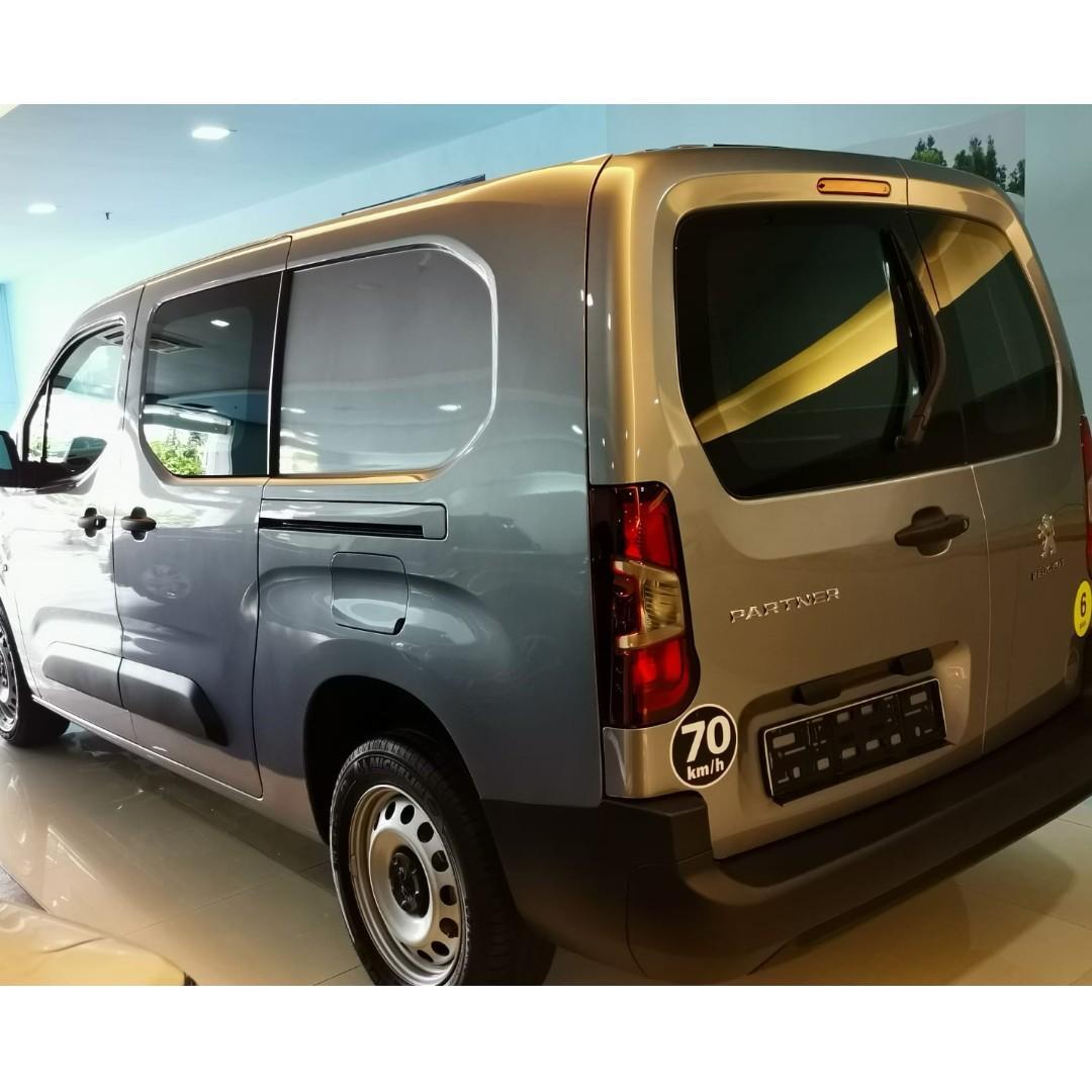 Brand New Peugeot Partner 1.5 BlueHDi LWD