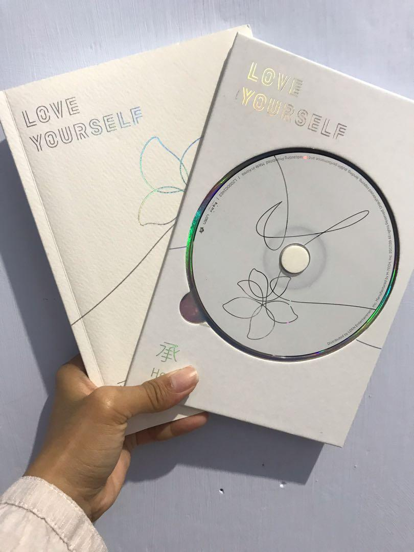 Preloved Album BTS Love Yourself