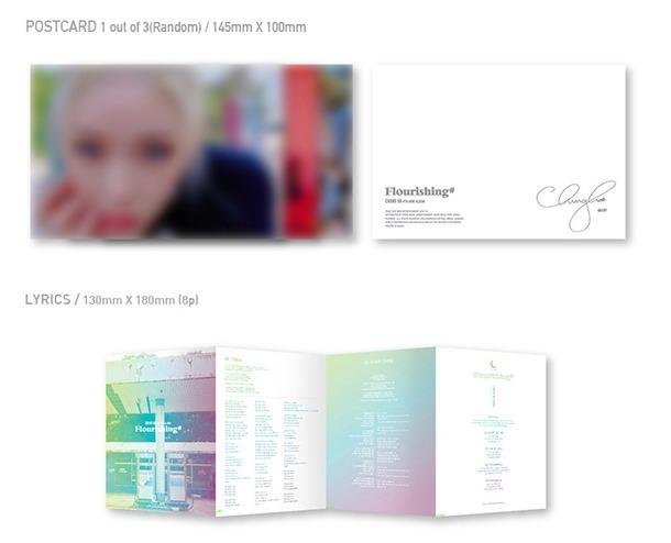 [Pre-order] CHUNGHA 청하 (4TH MINI ALBUM 미니앨범) - FLOURISHING