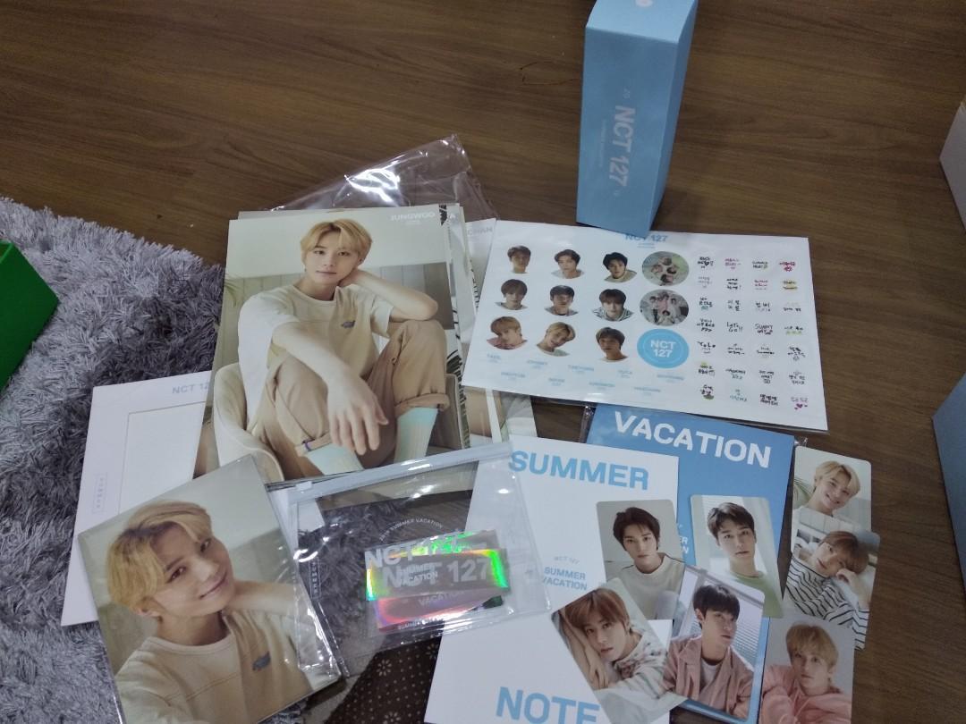[READYSTOCK] Loose NCT 127 Summer Vacation Kit