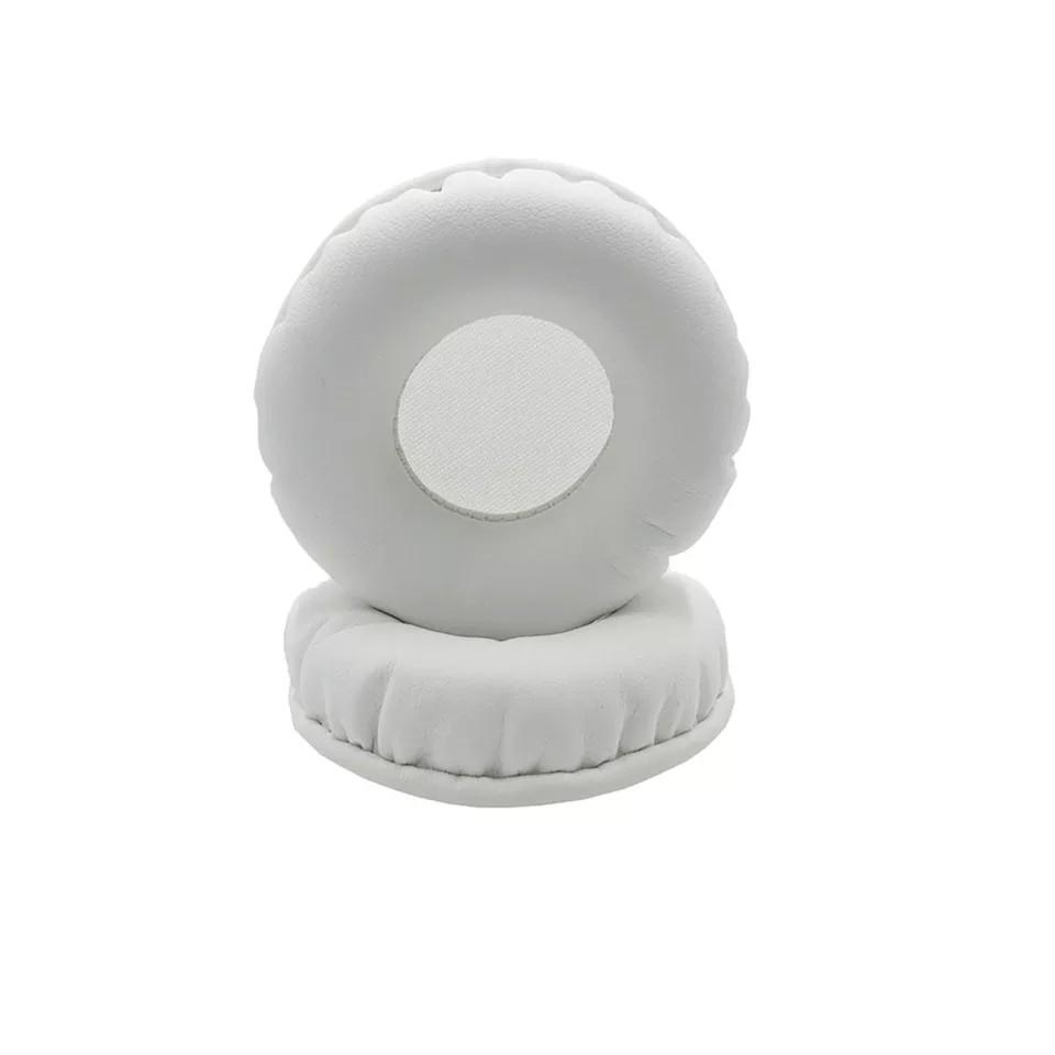 Replacement earpads (white) for Sony NWZ-WH505 and NWZ-WH303