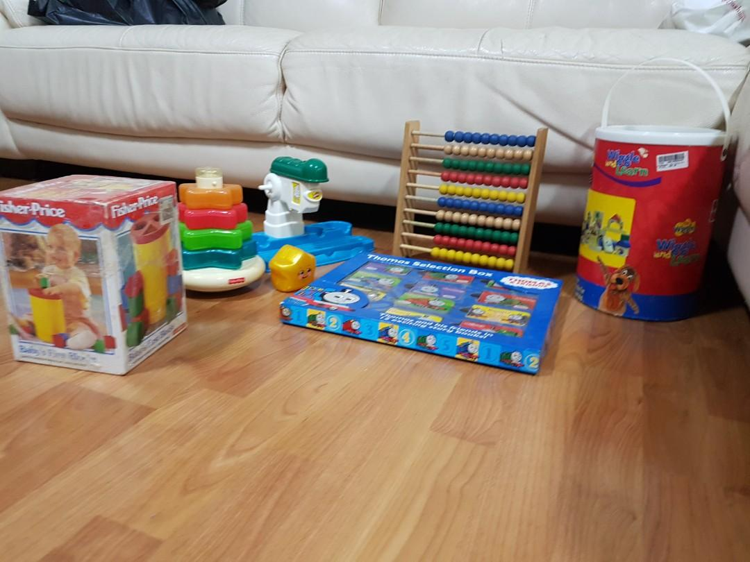 Second Hand Children Toys And Books With June Holiday