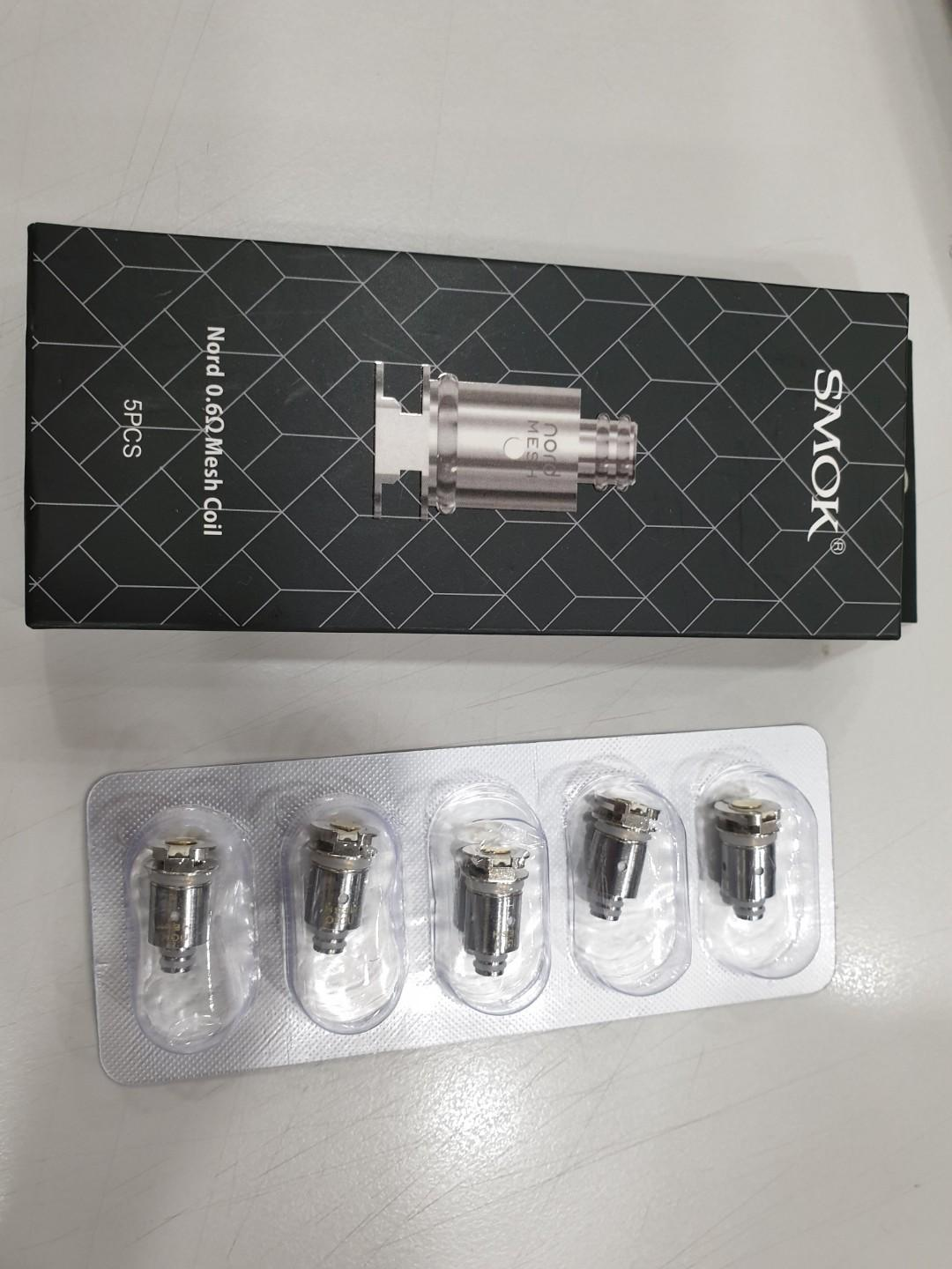 Smok Nord 0 6 ohm OCC Mesh Coil on Carousell