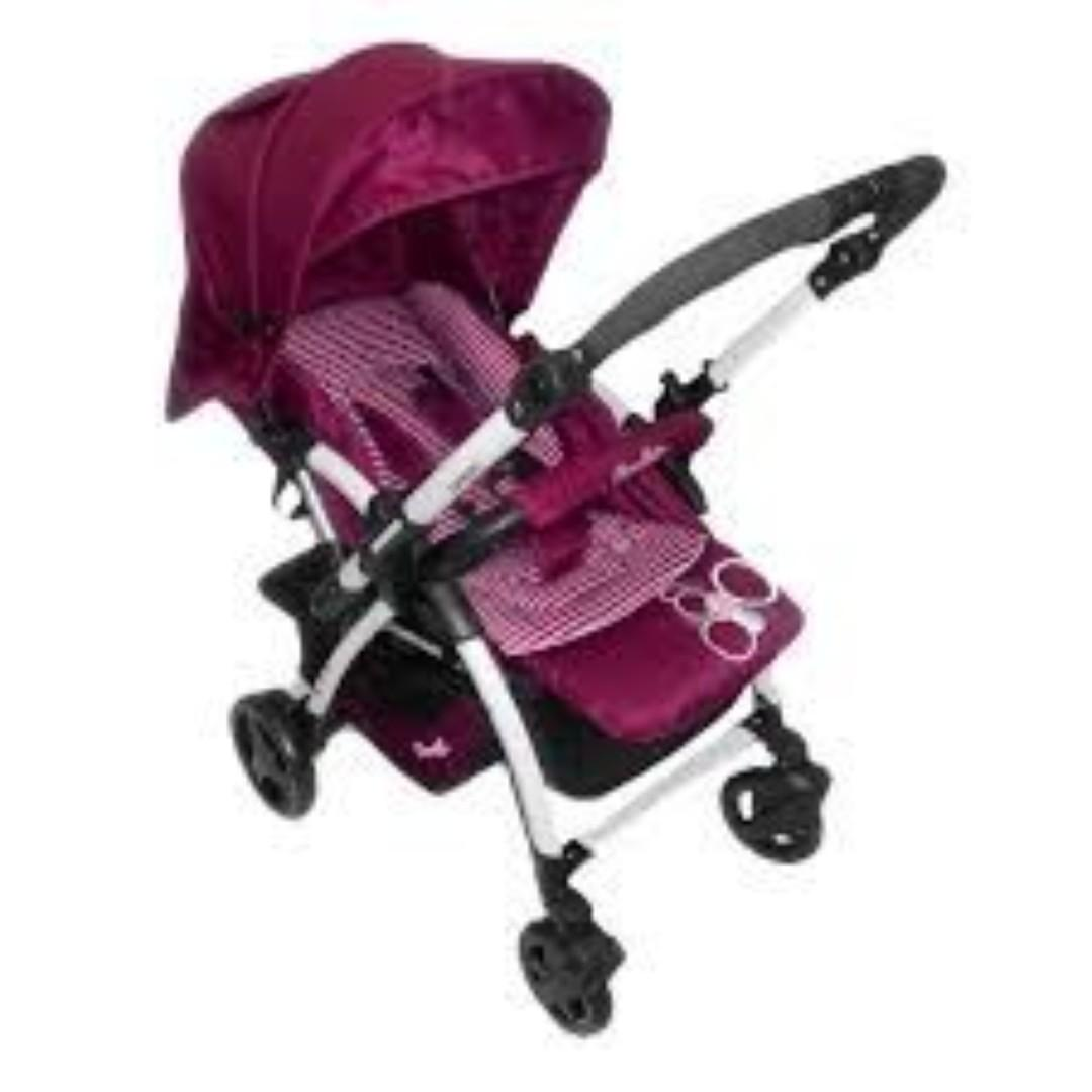 Stroller cocollate Q6 X amber purple