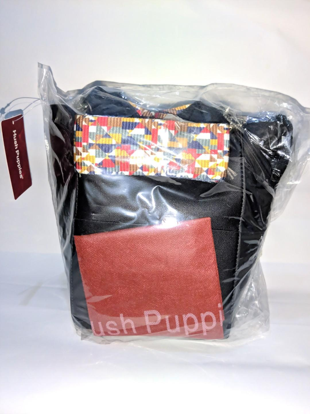 TAS HUSH PUPPIES ORIGINAL SASA SLING BAG HITAM