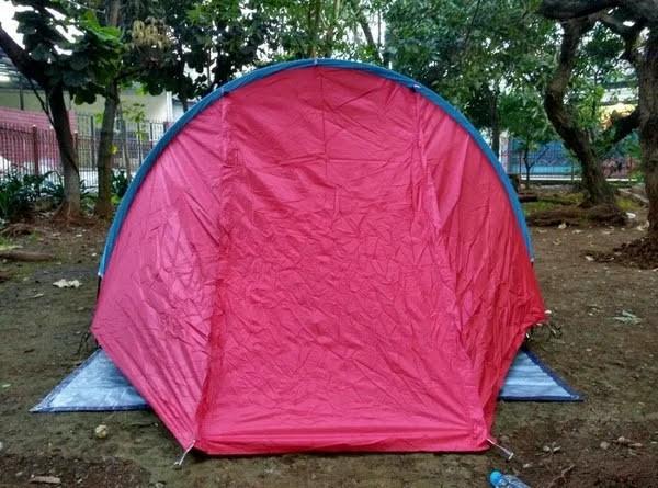 Tenda camping double layer 3-4P