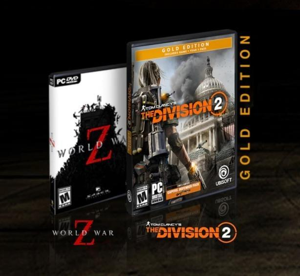 The Division 2 Gold Edition Pc Uplay Key And World War Z