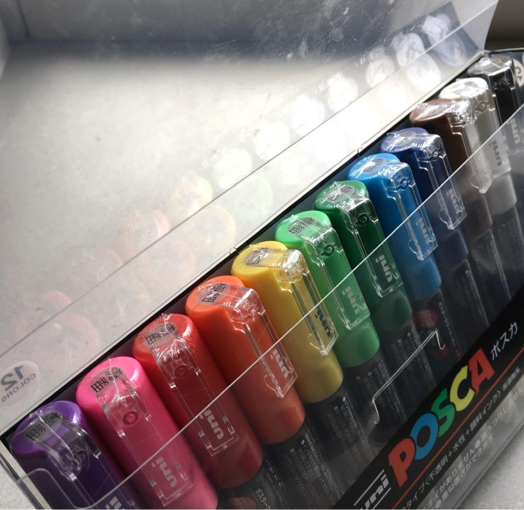 Uni Posca Paint Pen Set