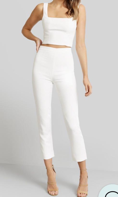 WANTING TO BUY: Kookai Valentine Pants WHITE SIZE 38
