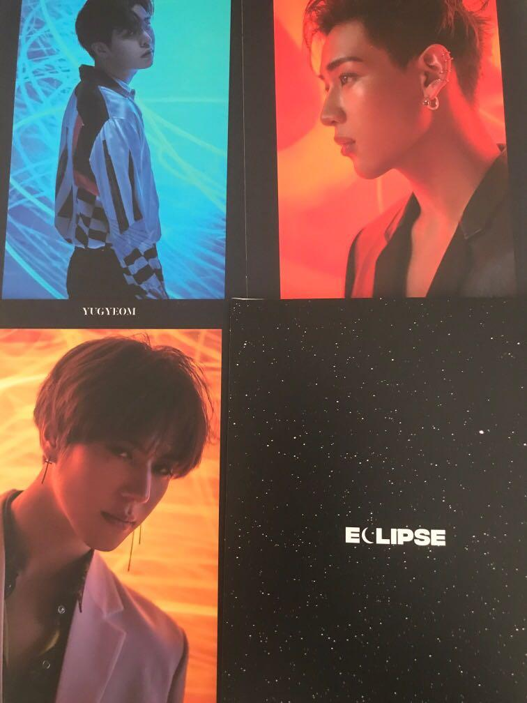 [WTS] Spinning Top preorder benefits (postcards w/o Jackson+ sticker)