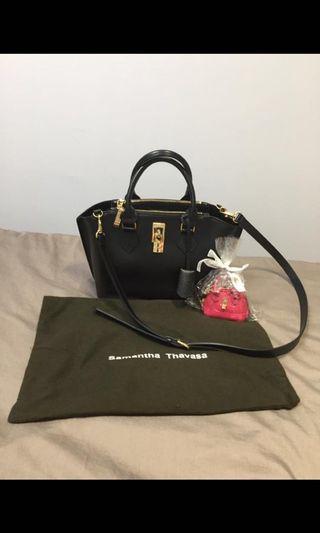 🚚 Samantha Thavasa leather bag