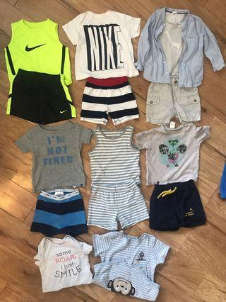 Baby 6-12m lot ,GAP,ZARA,h&m