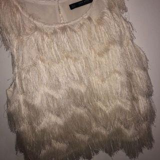 🚚 Zara fluffy top