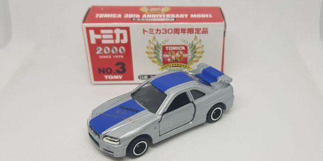 🚚 Tomica 30th Anniversary Nissan Skyline GT-R R34.
