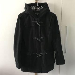 b+ab 黑色外套
