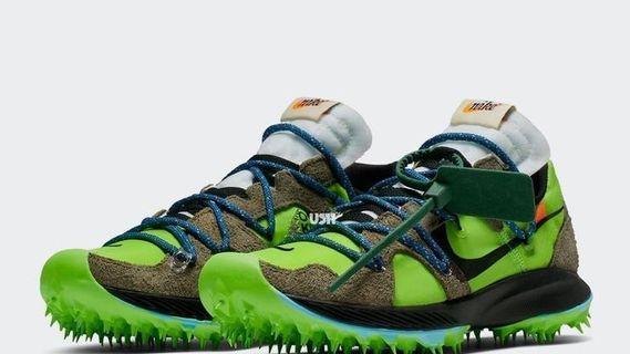 🚚 OffWhite x Nike Zoom Terra Kiger 5