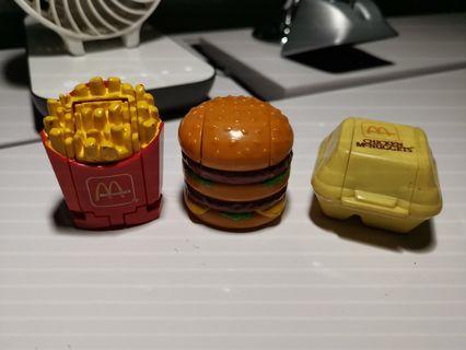 🚚 Vintage Mcdonald Transformers