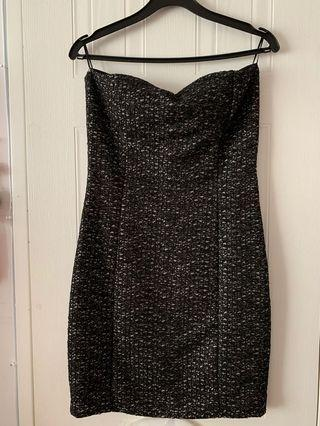 Textured tube dress