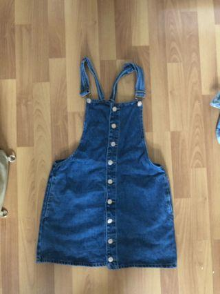 Overall dress size small