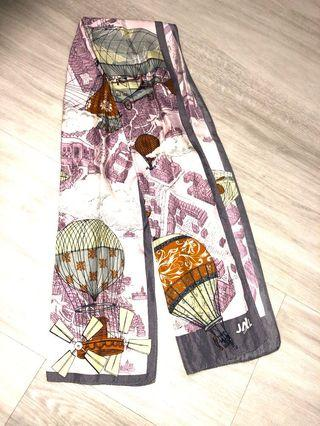 🚚 Authentic Japan Airlines silk scarf