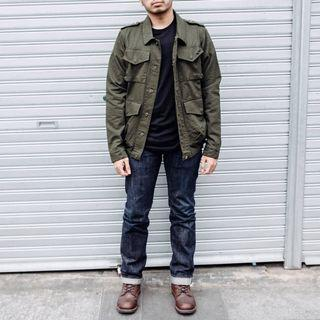 Jacket Save my monday (Ivander green army)