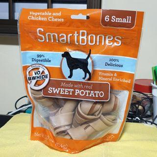 SmartBones Dog Chew - Vegetable and Chicken Chews (314g, 6 Small)