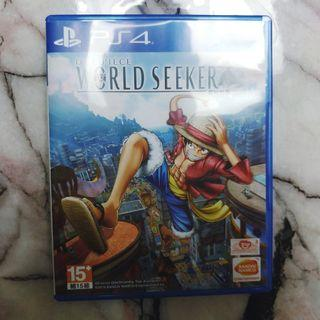 PS4 One Piece World Seeker