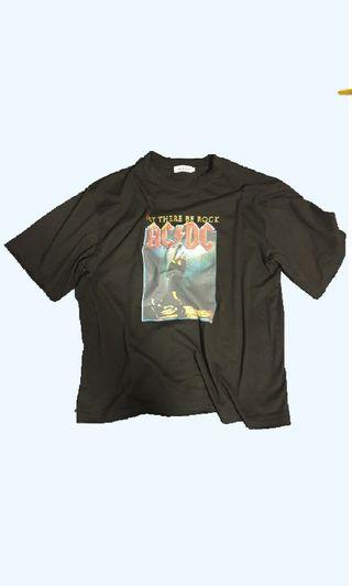Vintage AC/DC Let there be Rock OVERSIZE Tee