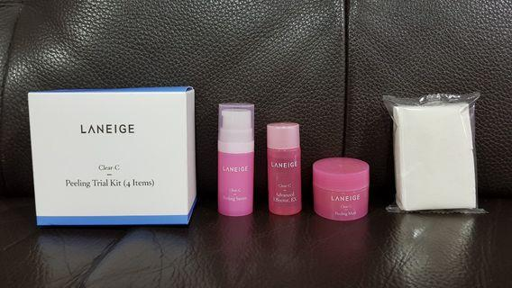 Laneige Clear-C Peeling Trial Kit (4 items) np RM 79.9
