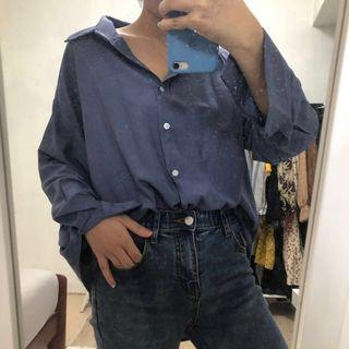 🚚 知性藍襯衫💙