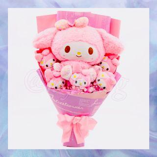 My Melody Cartoon Character Handheld Bouquet Gift