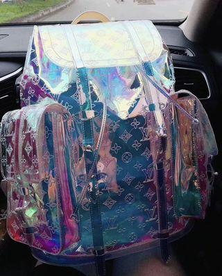 Louis Vuitton prism backpack