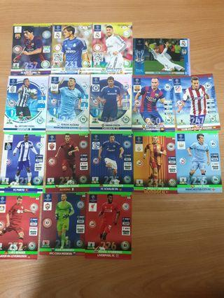 Champions League 2014/15 Adrenalyn XL Special Cards