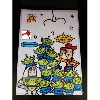 【現貨】台灣Disney(Toy Story)L型文件夾(A4)