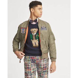 Polo Ralph Lauren Reversible Twill MA1 Bomber Jacket