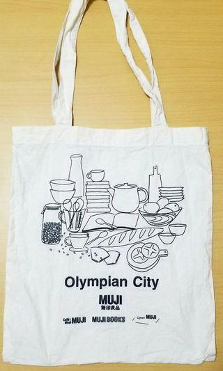 全新💜💜MUJI Tote Bag 無印良品布袋#MTRtw #MTRssp #MTRmk