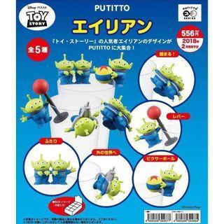 💋 (娃娃機)Qposket WCF DX DXF 迪士尼 皮克斯 玩具總動員 三眼怪 A款 盒玩 扭蛋 杯緣子 公仔/模型/娃娃機