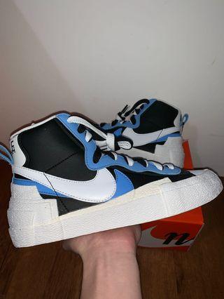🚚 Nike Sacai Blazer Blue