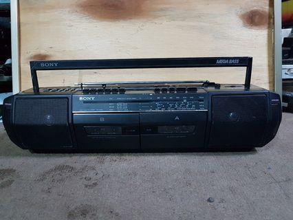 Sony Radio Double Deck Cassette (CFS-DW30S)
