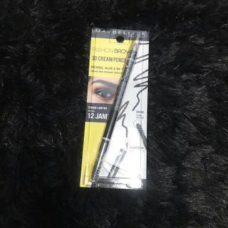 Maybelline fashion brow 3D cream pencil (dark brown) .