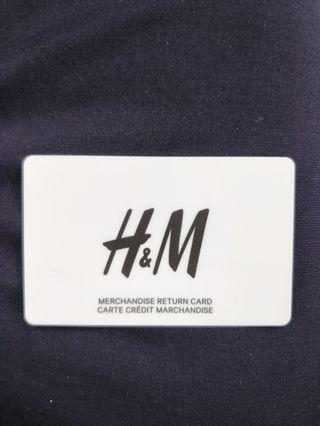 H&M Store Credit ($62.14 value)