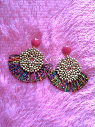 Tassel Bohemian Earrings Multi color
